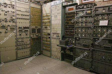 Moscow, Russia - Cold War Nuclear Bunker 42