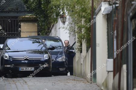Editorial image of Various at the home of Nicolas Sarkozy in Paris, France - 23 Mar 2013