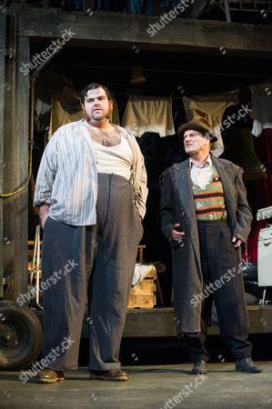 Dean Nolan (Harold Steptoe) and Mike Shepherd (Albert Steptoe).