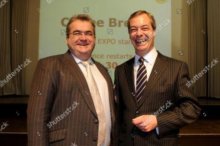 Jon Gaunt and Nigel Farage