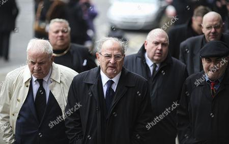 Freddie Foreman, Eric Hall, far right