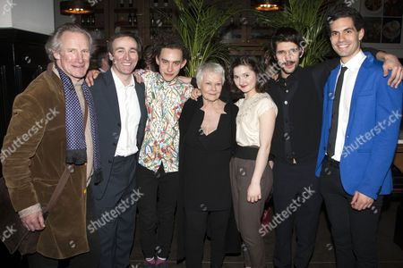 Editorial photo of 'Peter and Alice' press night play after party, London, Britain - 25 Mar 2013
