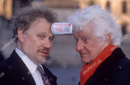 Colin Baker and Jon Pertwee