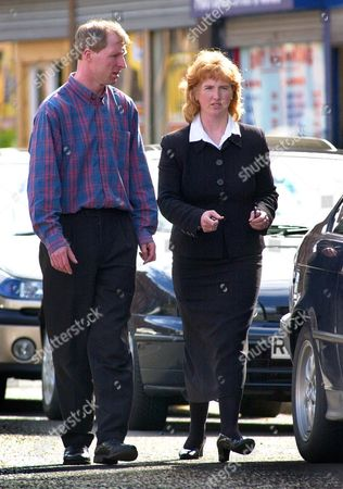 Lawyer Rosemary Guinnane With Former Husband John Gilbride. She Is The Former Mistress Of Qc And Scottish Labour Party Politician Gordon Jackson.