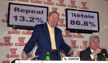 Brian Souter Speaks After Winning The Independent Clause 28 Vote (r) Jack Irvine.. The Controversy Over Section 28 Goes On As Stagecoach Company Tycoon Brian Souter (pictured) Said He Was Convinced His Decision To Fund A Private Referendum For Scotland On The Issue Was Correct.