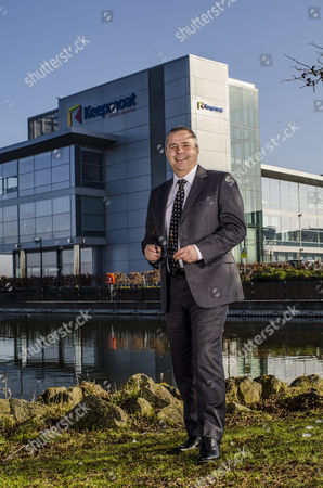 Editorial photo of Dave Sheridan, Chief Executive of Keepmoat at their offices in Doncaster, Britain - 19 Feb 2013
