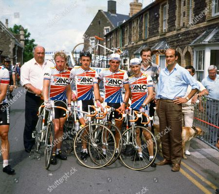 Tony Capper, Steve Jones, Adrian Timmis, Joey McLoughlin, Steve Thomas, Phil Griffiths and Phil Edwards.
