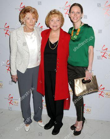 Jeanne Cooper, Lee Phillip Bell, Lauralee Bell