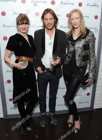 Jasmine Guinness, James Rousseau and Jade Parfitt
