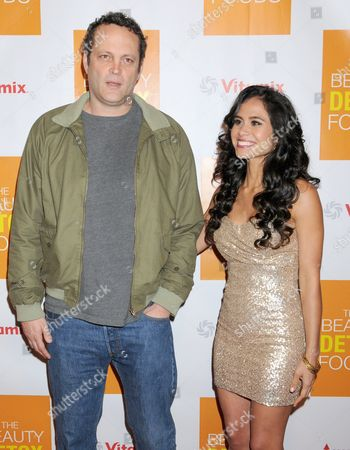 Vince Vaughn and Kimberly Snyder