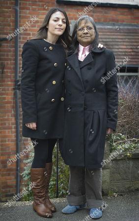 Stock Image of Stephanie and Arline Kercher
