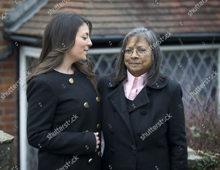 Stock Image of Stephanie and Arline Kercher