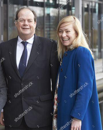 Transport Minister Stephen Hammond MP and Nicola Blackwood MP