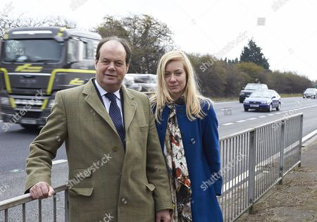 Transport Minister Stephen Hammond MP and Nicola Blackwood