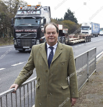 Transport Minister Stephen Hammond by the congested A34