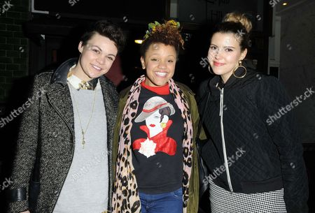 Georgie Okell, Gemma Cairney and Georgia Lewis Anderson