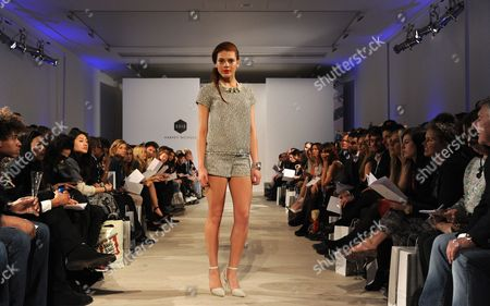 Editorial picture of The Harvey Nichols Spring Summer 2013 Fashion Show, Saatchi Gallery, London, Britain - 27 Mar 2013