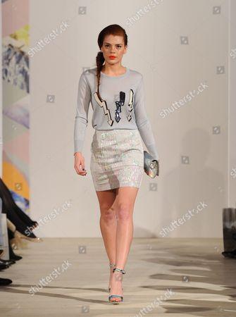 Editorial image of The Harvey Nichols Spring Summer 2013 Fashion Show, Saatchi Gallery, London, Britain - 27 Mar 2013