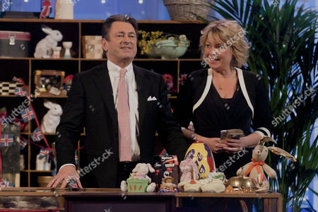 Stock Image of Alan Titchmarsh and Lorne Spicer