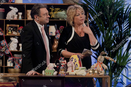 Stock Photo of Alan Titchmarsh and Lorne Spicer