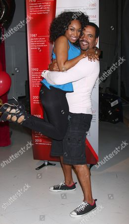 Angell Conwell and Kristoff St John