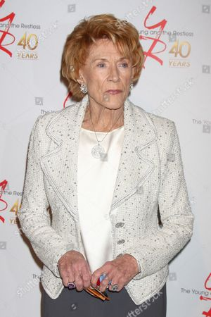 Editorial image of 'The Young and the Restless' 40th anniversary party, Los Angeles, America - 26 Mar 2013