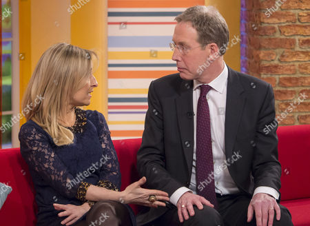 Stock Photo of Fiona Phillips and David Behan