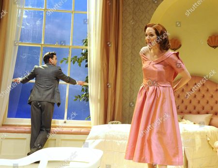 Alex Price as David, Katherine Parkinson as Laura