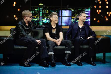 Depeche Mode - Andrew Fletcher, Martin Gore, Dave Gahan