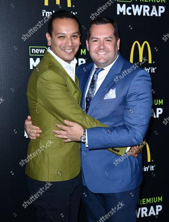 Ross Mathews and Salvador Camarena