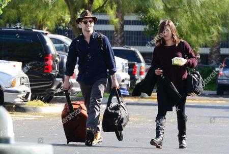 Justin Bartha and girlfriend Lia Smith