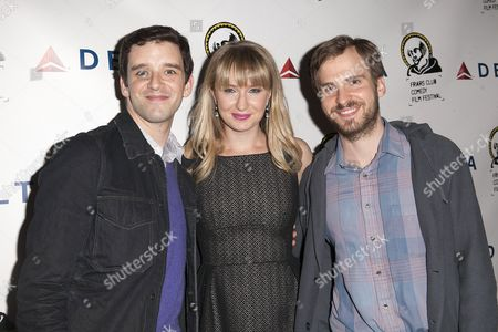 Michael Urie, Halley Feiffer and Ryan Spahn