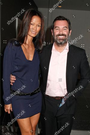 Stock Photo of Duncan Sheik and Nora Ariffin