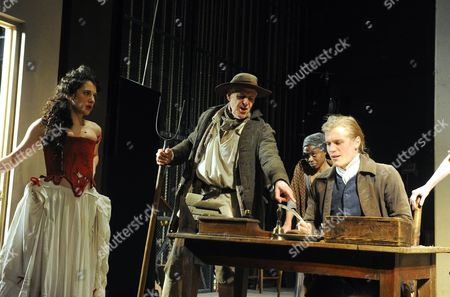 Ellie Kendrick as Prostitute, Ian Gelder as Farmer, Natasha Gordon as Old One-Eyed Tizzy, Johnny Flynn as Jim Trumpett