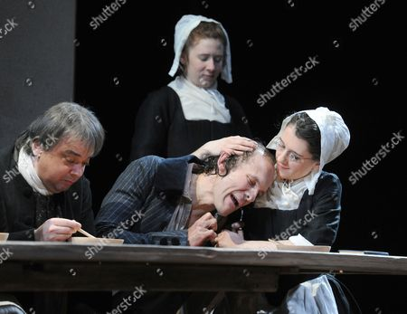 Kit Benjamin as Congregant, Helen Cripps as Sister Elizabeth, Simon Paisley Day as Poor Tim, Ellie Kendrick as Constance Pugh