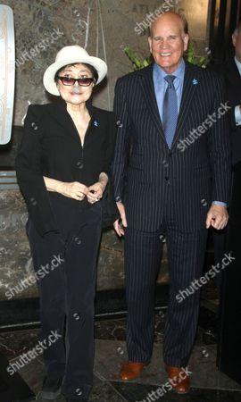 Yoko Ono and Bob Wright