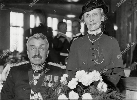 Lord (george Kemp) And Lady Rochdale The Lord Lieutenant Of Middlesex.