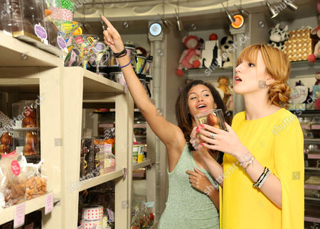 Olivia Grace and Bella Thorne