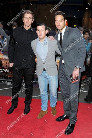Dan Osborne, Little Chris Drake, James Lock