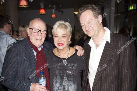 Richard Wilson (Director), Denise Welch (Catherine Robinson) and Richard Bean (Author)
