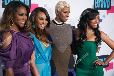 Cast of 'The Real Housewives of Atlanta' - Kenya Moore, Cynthia Bailey, NeNe Leakes and Porsha Stewart
