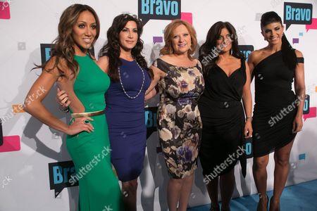 Cast of 'The Real Housewives of New Jersey' - Melissa Gorga, Jacqueline Laurita, Caroline Manzo, Teresa Giudice, Kathy Wakile