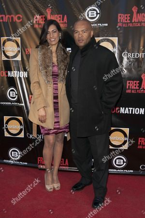 Editorial picture of 'Free Angela and All Political Prisoners' film premiere, New York, America - 03 Apr 2013