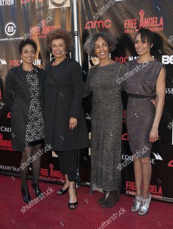 Shola Lynch, Angela Davis, Fania Davis and Eisa Davis