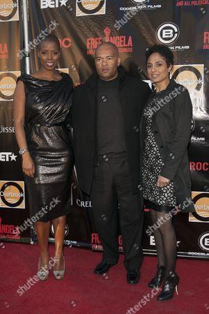 Sidra Smith, Jeff Clanagan and Shola Lynch