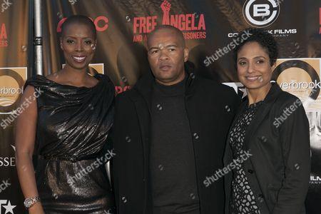 Stock Image of Sidra Smith, Jeff Clanagan and Shola Lynch