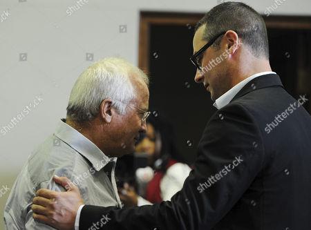Carl Pistorius and Henke Pistorius