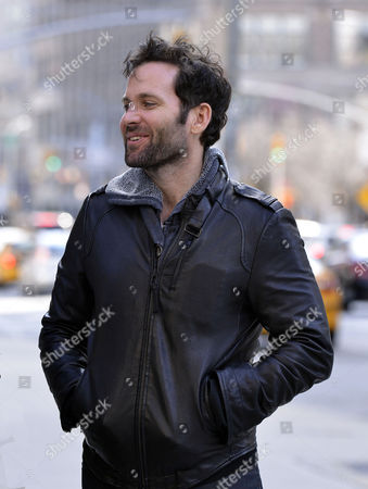 Editorial image of Eion Bailey out and about in New York, America - 03 Apr 2013