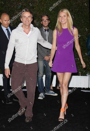 Stephen Huvane and Gwyneth Paltrow