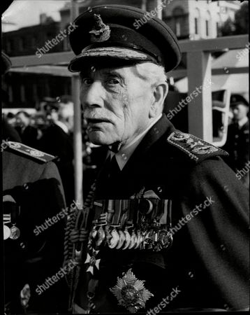 Stock Photo of Raf Marshal Sir John Salmond Marshal Of The Royal Air Force Sir John Maitland Salmond Gcb Cmg Cvo Dso And Bar (17 July 1881 Oo 16 April 1968) Was A British Military Officer Who Rose To High Rank In The Royal Flying Corps And Then The Royal Air Force. During The First World War He Served A Squadron Commander As A Wing Commander And Then As General Officer Commanding The Raf On The Western Front Towards The End Of The War. He Went On To Be Air Officer Commanding British Forces In Iraq In The Early 1920s When He Halted A Turkish Invasion And Sought To Put Down A Kurdish Uprising Against King Faisal The British-sponsored Ruler Of Iraq. He Was Chief Of The Air Staff In The Early 1930s And Bitterly Opposed The Position Taken By British Politicians At The World Disarmament Conference In Geneva Which Would Have Led To The Uk's Complete Aerial Disarmament. In The Event The Talks Broke Down When Hitler Withdrew From The Conference In October 1933.